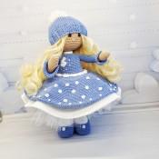 кукла крючком Мила
