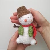 мк снеговик крчком