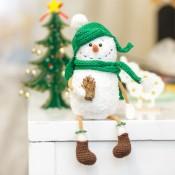 мк снеговик крючком