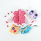 Комплект одежды (бомбер, шорты, майка и кроссовки)