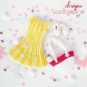Набор одежды для куклы Джессика