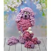 Мастер-класс (описание вязания) Собачка Люся