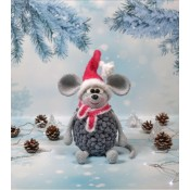 Мастер-класс (описание вязания) Мышка Шишка