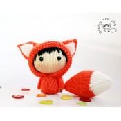 Куколка Огненная Лисичка из серии Tanoshi