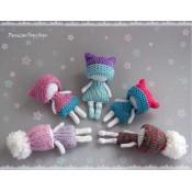 Маленькие зимние куколки