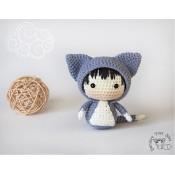 Маленькая куколка Кошечка из серии Tanoshi