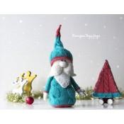 Гламурный Гном с Рождественской Ёлкой