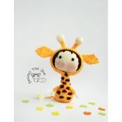 Маленькая куколка Жираф из серии Tanoshi