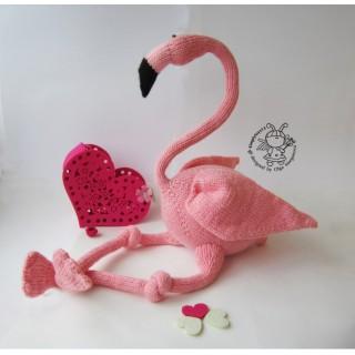 """ Большой розовый фламинго"""