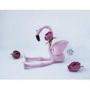 """""""  Розовый фламинго крючком"""""""