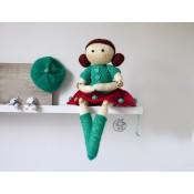 Шарнирная кукла Саманта