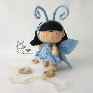 Пупсик в костюме Бабочки