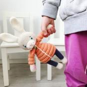 Мастер-класс по вязанию Пасхальный Кролик