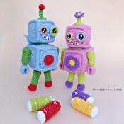 Мастер-Класс по вязанию Робот