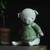 Свинка в стиле Тедди