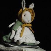 Заяц в стиле Тедди из коллекции Эдвард