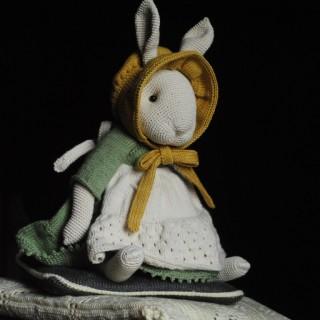 Заяц в стиле Тедди из коллекции Эдвард без одежды