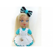 Кукла Алиса в Зазеркалье.