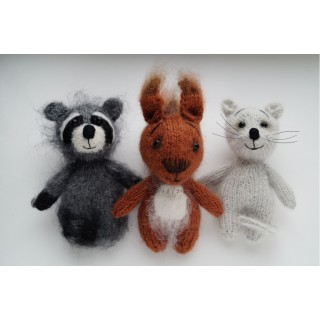 3 в 1. Белка, Мышь, Енот