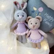 Мишка и заяц Стешенька