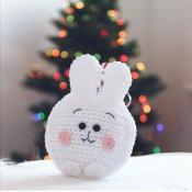 Бесплатный МК крючком: «Mini Ushastik bunny»