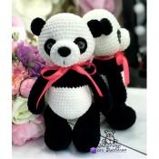 Мастер-класс игрушка Панда обаяшка