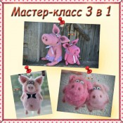 Сборник из 3 МК по свинкам