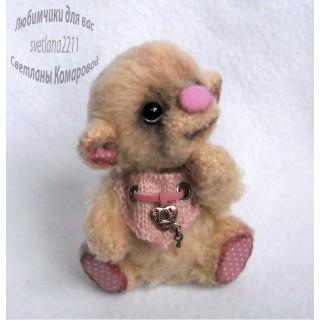 Пинки-велюровые мишки№1