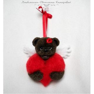 Мишка с сердцем-3