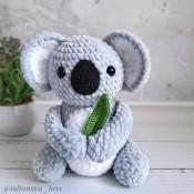 Мастер-класс плюшевая коала