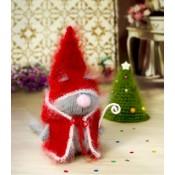 Кот Дед Мороз игрушка