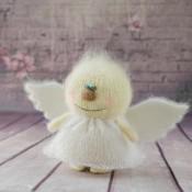Ангел игрушка спицами