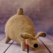 Собака-Некусака крючком мастер-класс