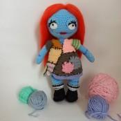 схема вязания амигуруми куклы Салли