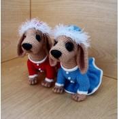 Новогодние собачки от Irinadas