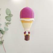 Воздушный шар с корзиной