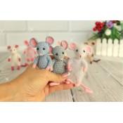 Мастер - класс каркасной маленькой мышки