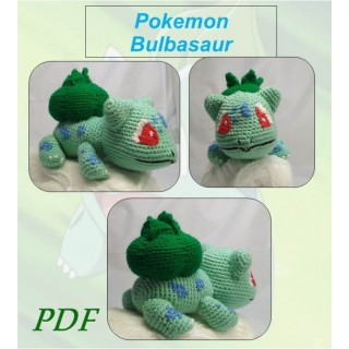Покемон  Бульбазавр, Pokemon Bulbasaur