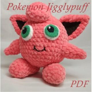 Покемон  Джиглипафф, Pokemon  Jigglypuff