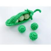МК Зеленый горошек крючком