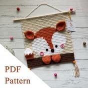 Fox PDF pattern crochet