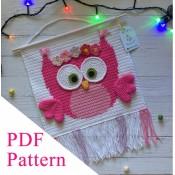 Owll PDF pattern, crochet