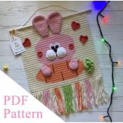 Bunny PDF pattern, crochet