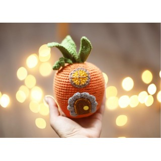 Домик морковка