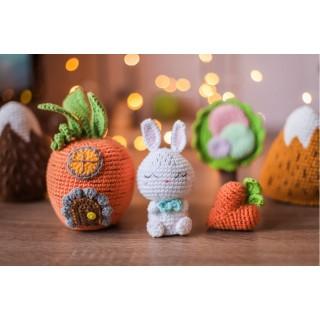 Кролик с домиком