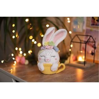Кролик Сахарок в чашке