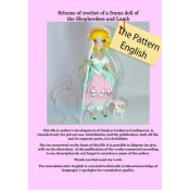 Scheme of knitting of a frame doll