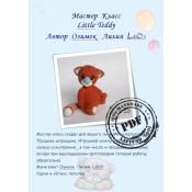 "Котик и рыжая панда серия ""Little Teddy"""