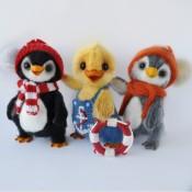 МК утенок Билли в гостях у пингвинов