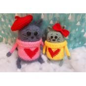 Кошка в свитере